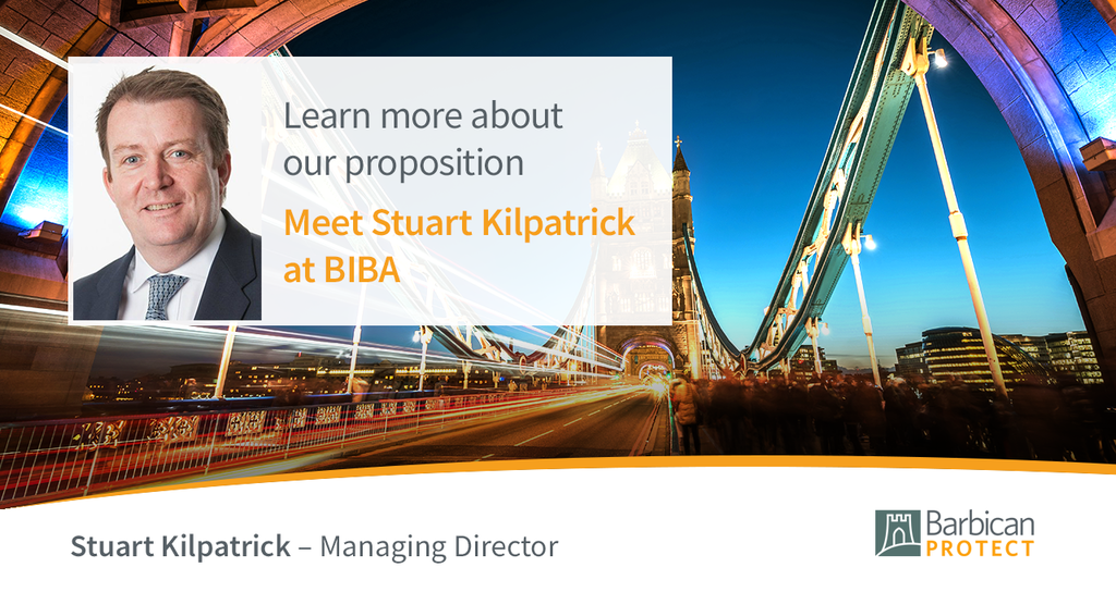 Learn more about our proposition, meet Stuart Kilpratrick at BIBA 2018